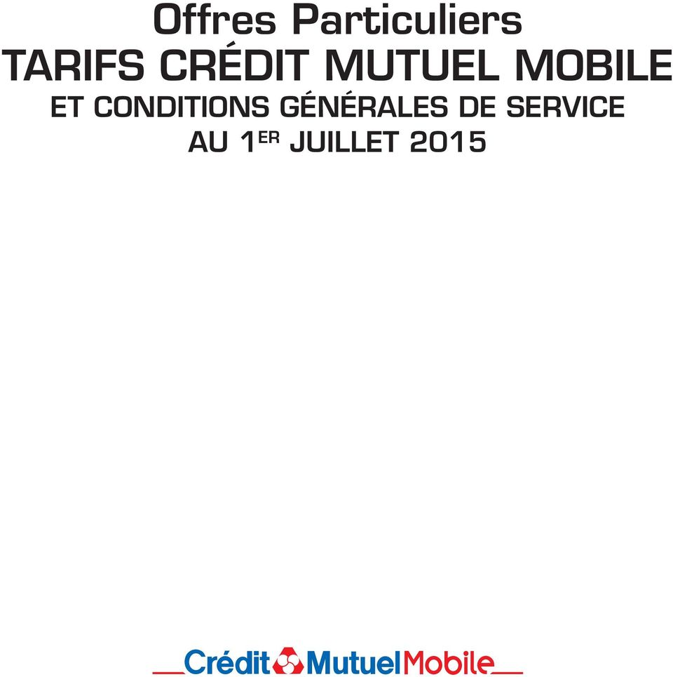 MOBILE ET CONDITIONS