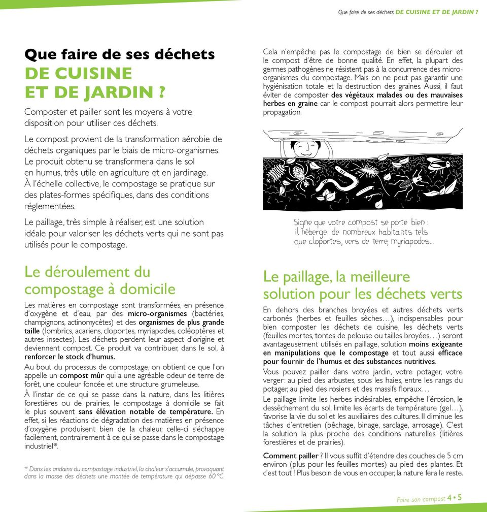 faire son compost et pailler son jardin pdf. Black Bedroom Furniture Sets. Home Design Ideas