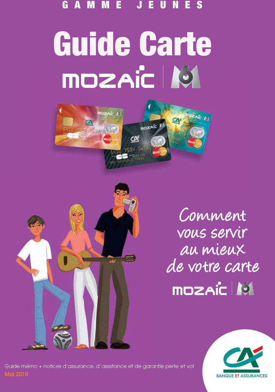 carte Guide mémo + notices d assurance,
