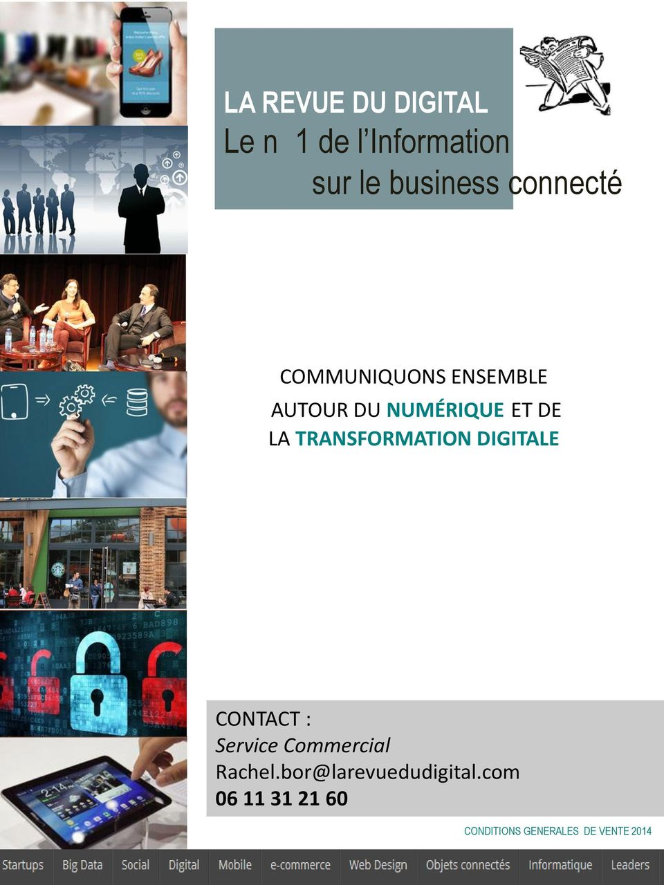 LA TRANSFORMATION DIGITALE CONTACT : Service