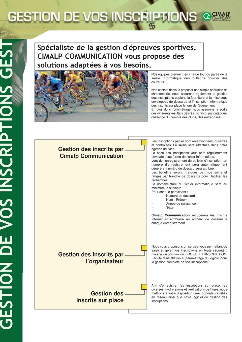 bulletins courrier des coureurs.