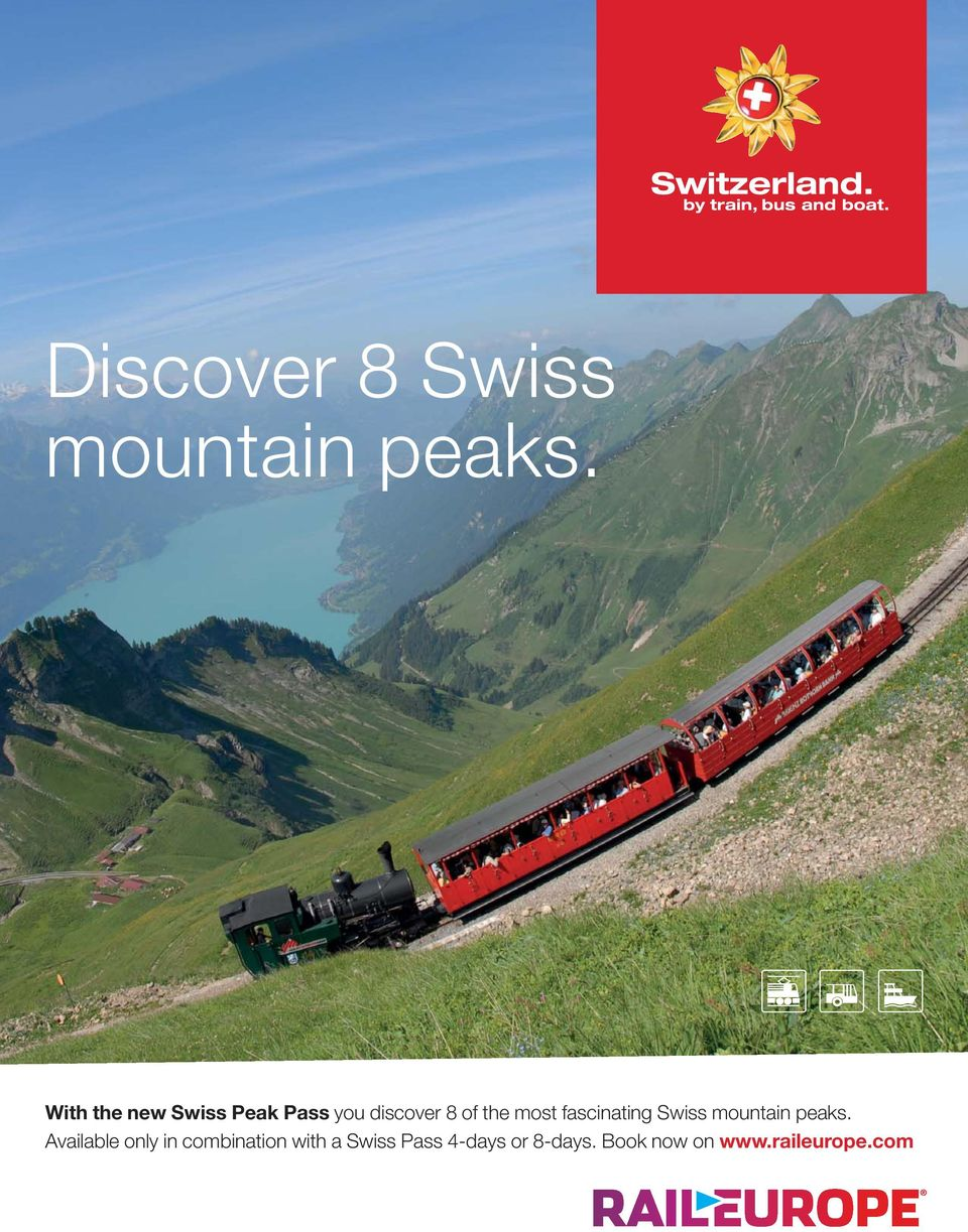 most fascinating Swiss mountain peaks.