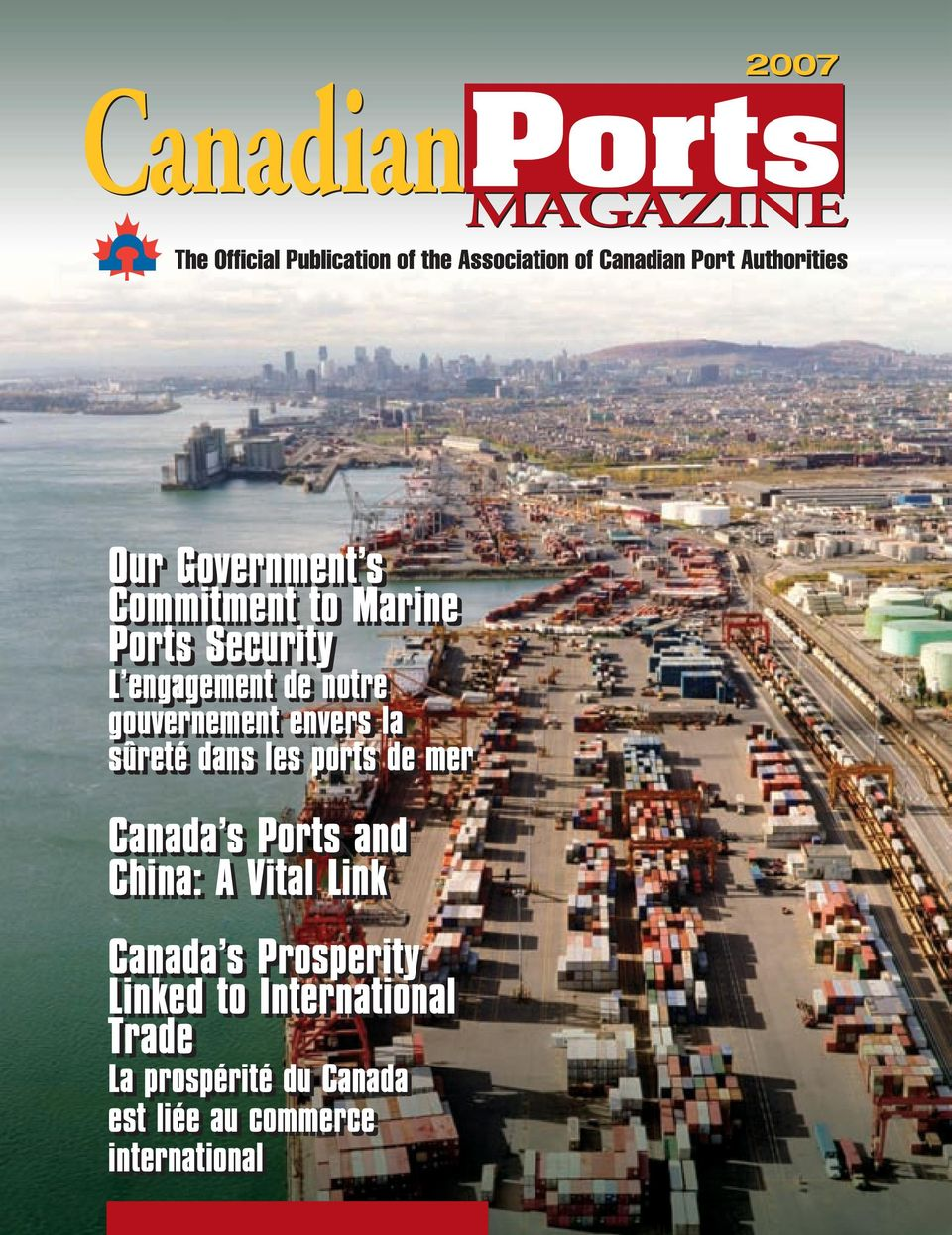 mer Canada s Ports and China: A Vital Link Canada s Prosperity Linked