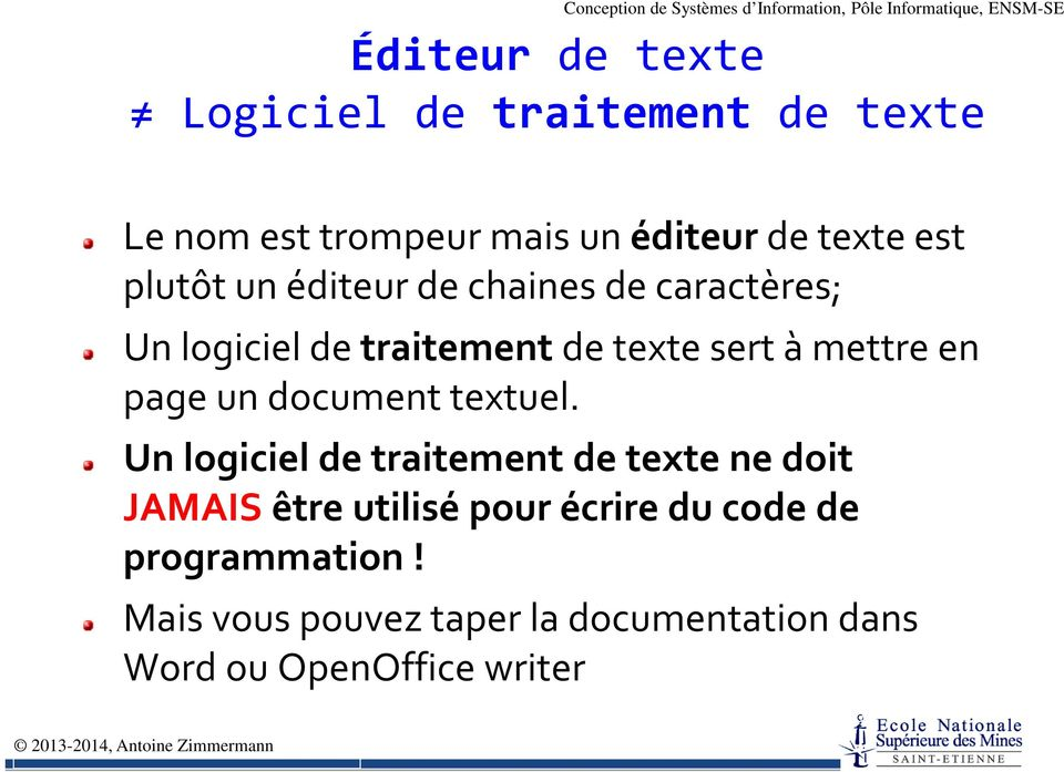 page un document textuel.
