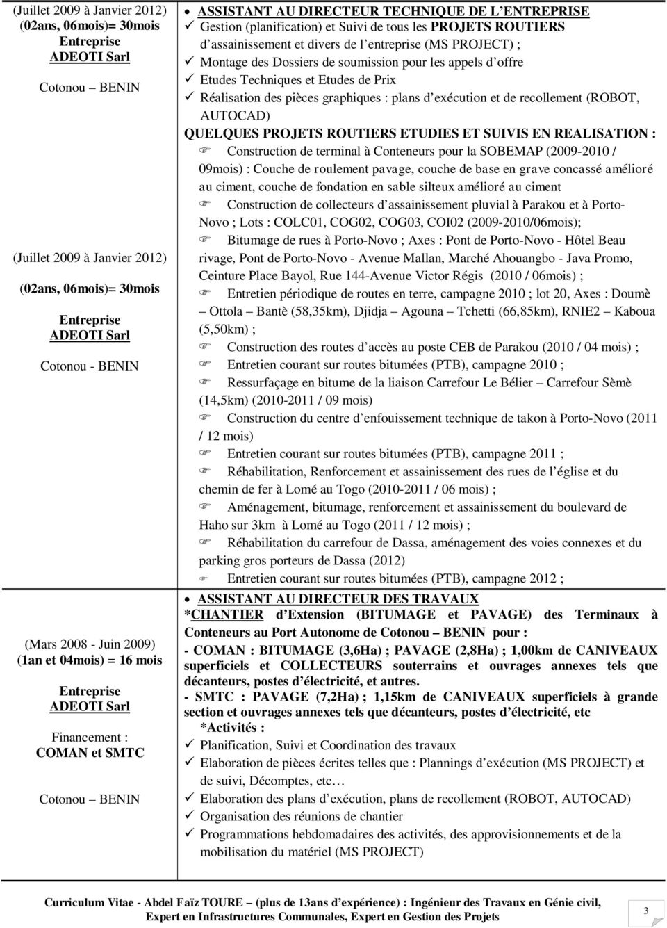 Cabinet de recrutement au b nin - Cabinet recrutement international ...