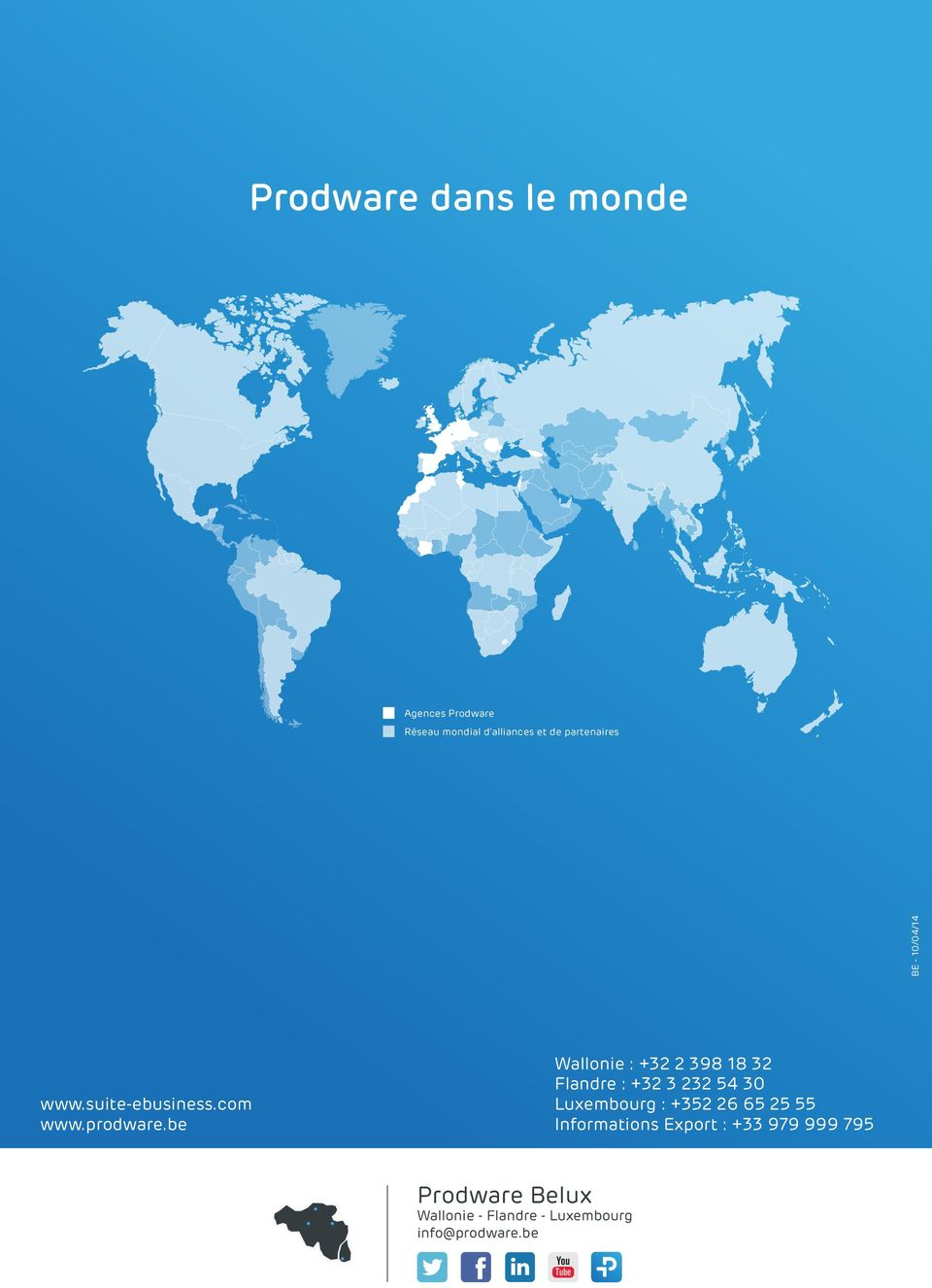 www.suite-ebusiness.com Luxembourg : +352 26 65 25 55 www.prodware.