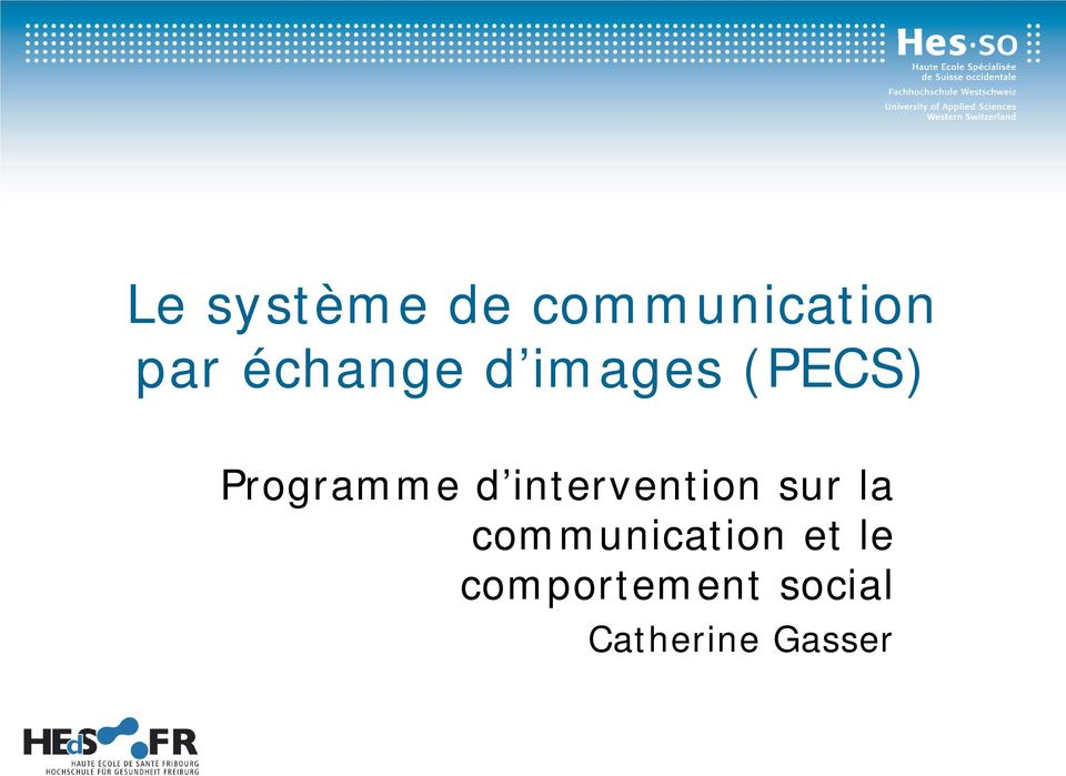 intervention sur la communication