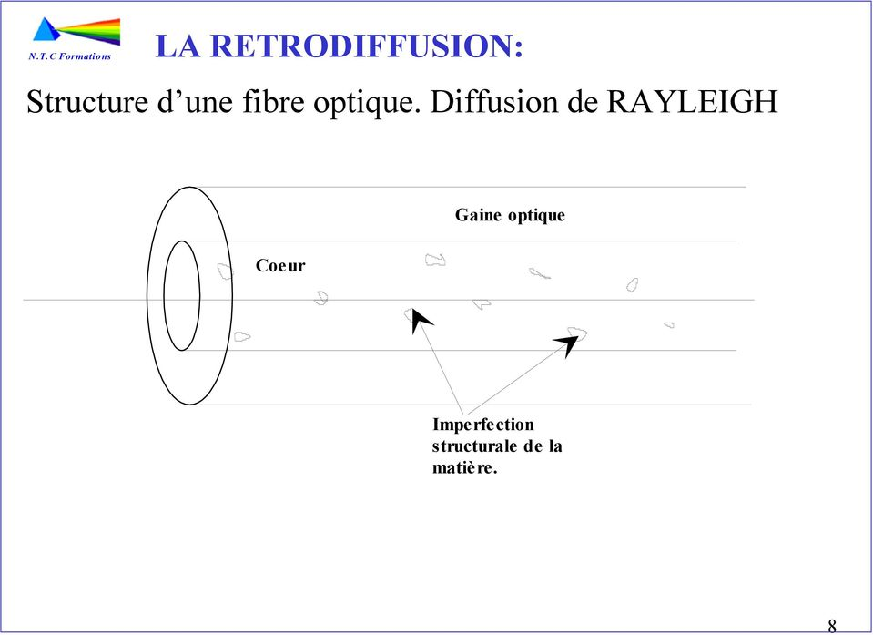Diffusion de RAYLEIGH Gaine