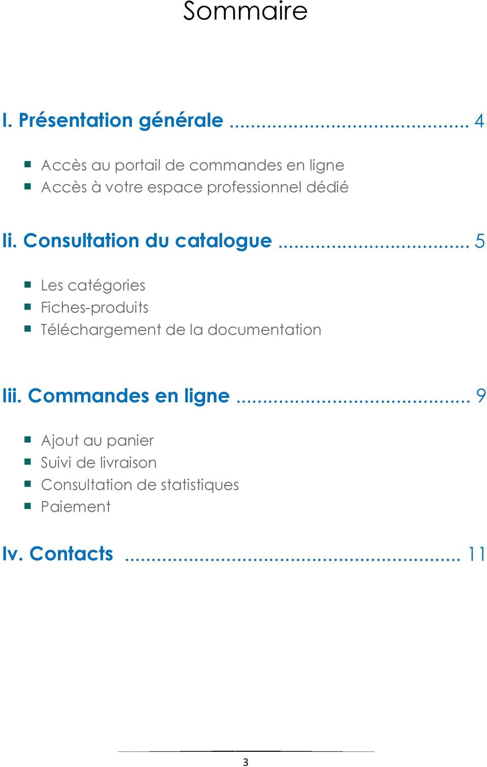 Consultation du catalogue.