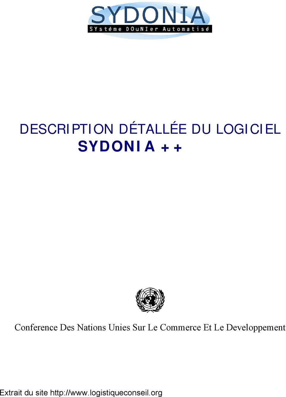 Conference Des Nations