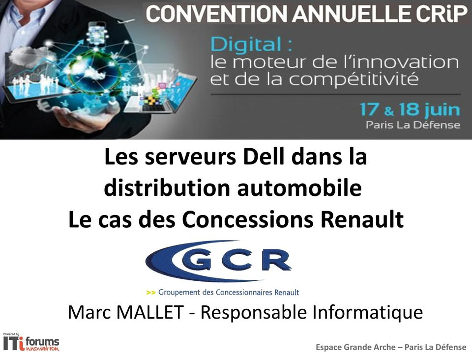 Renault Marc MALLET - Responsable