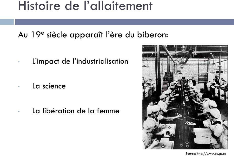 industrialisation La science La