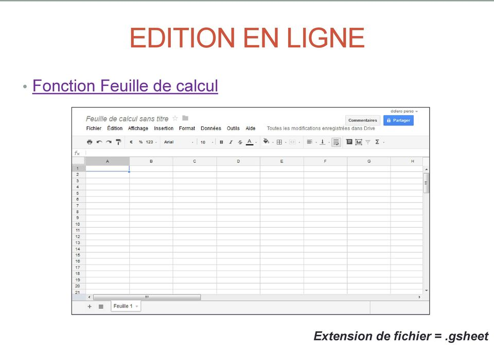 EN LIGNE Extension