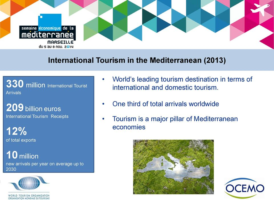 destination in terms of international and domestic tourism.