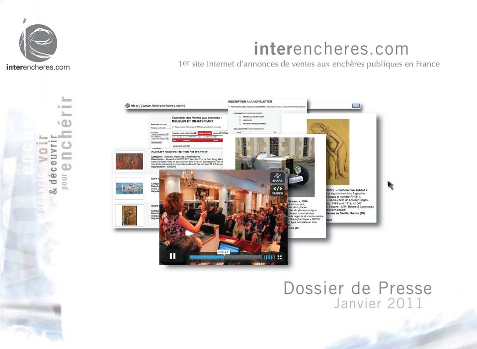 Calendrier Interencheres.Interencheres Comencheres Com 1er Site Internet D Annonces