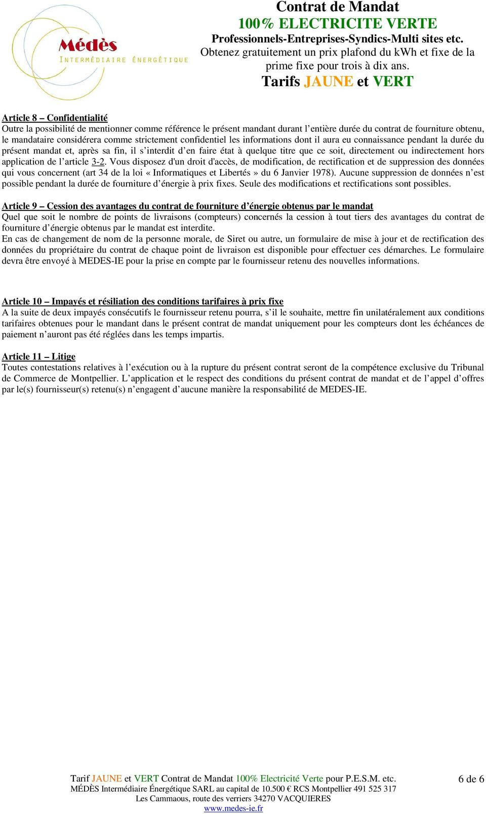 hors application de l article 3-2.