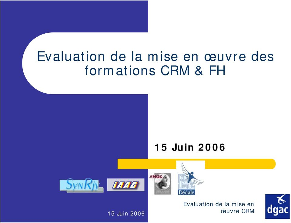 formations CRM & FH