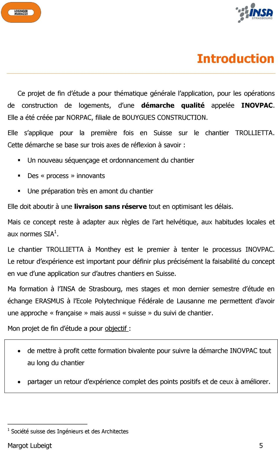 Projet de fin d tude pdf for Application suivi de chantier