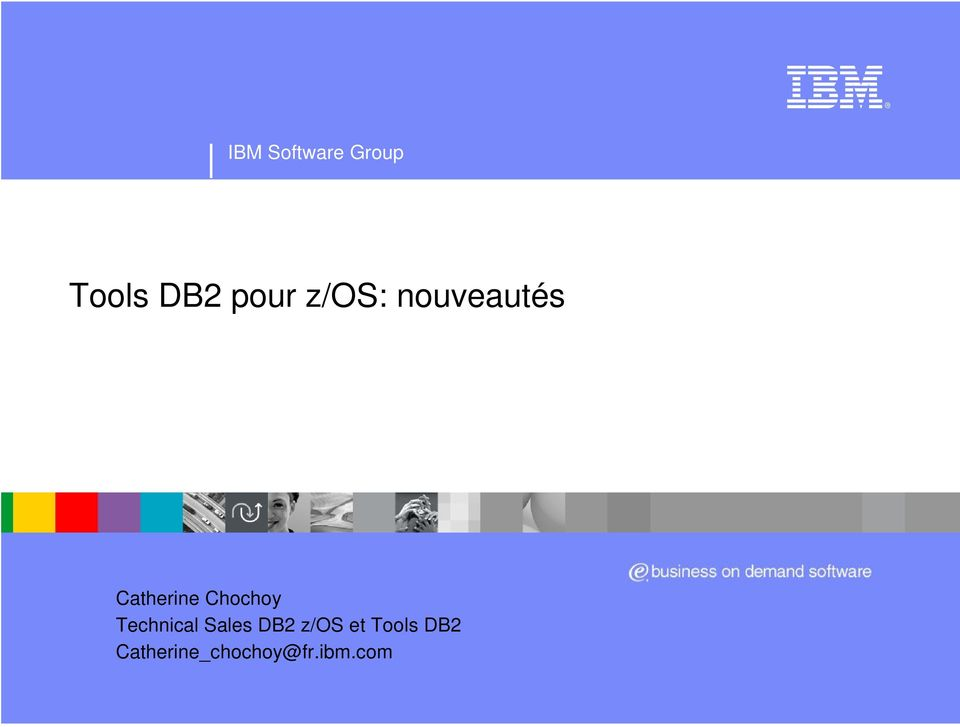 Technical Sales DB2 z/os et