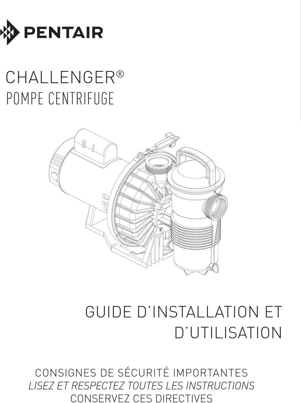Challenger pompe centrifuge pdf for Directive technique piscine