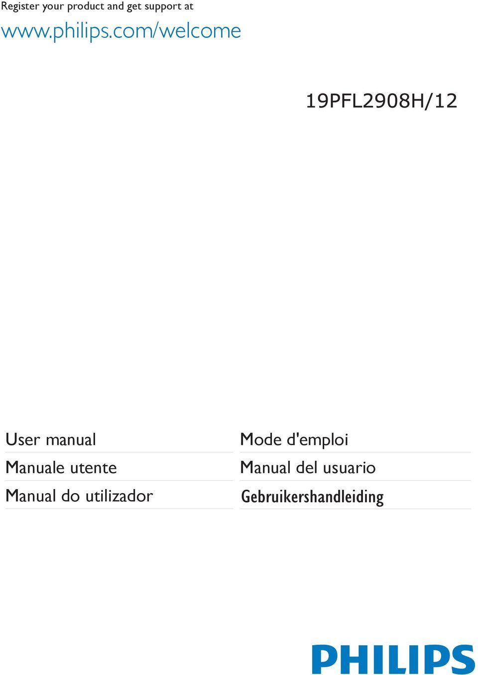 com/welcome User manual Manuale
