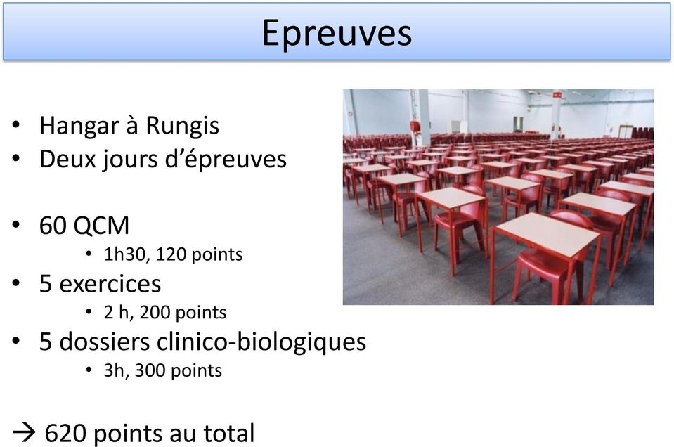 exercices 2 h, 200 points 5 dossiers