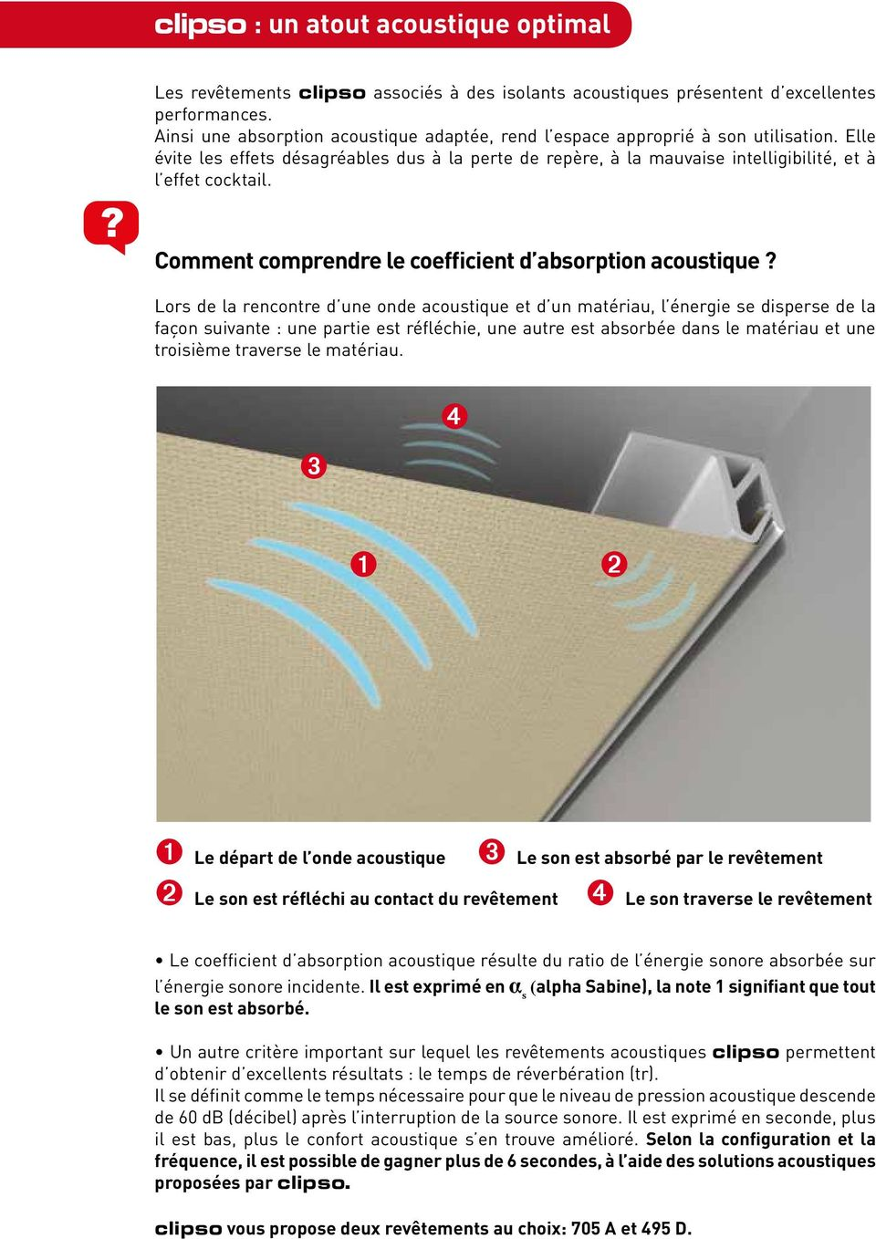 Comment comprendre le coefficient d absorption acoustique?
