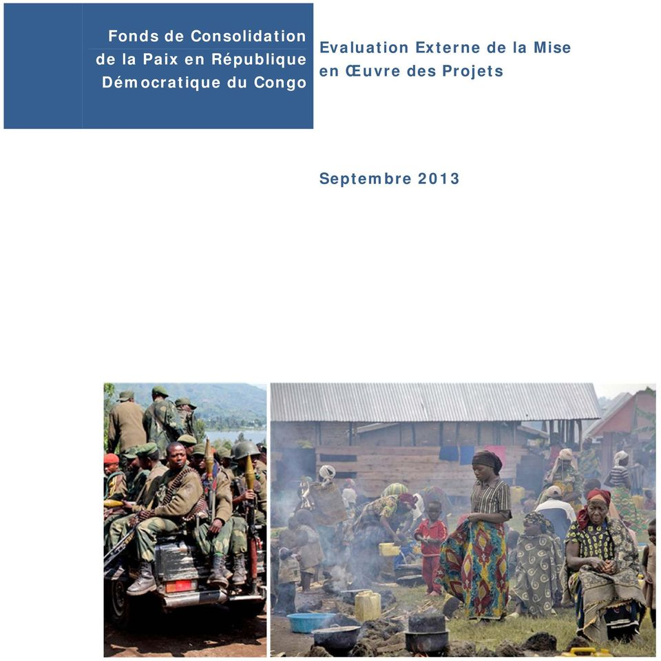 Congo Evaluation Externe de la