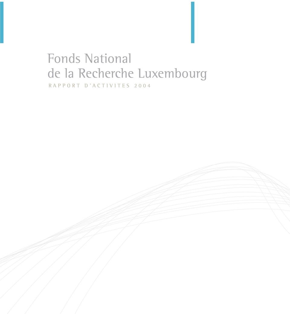 Luxembourg» RAPPORT