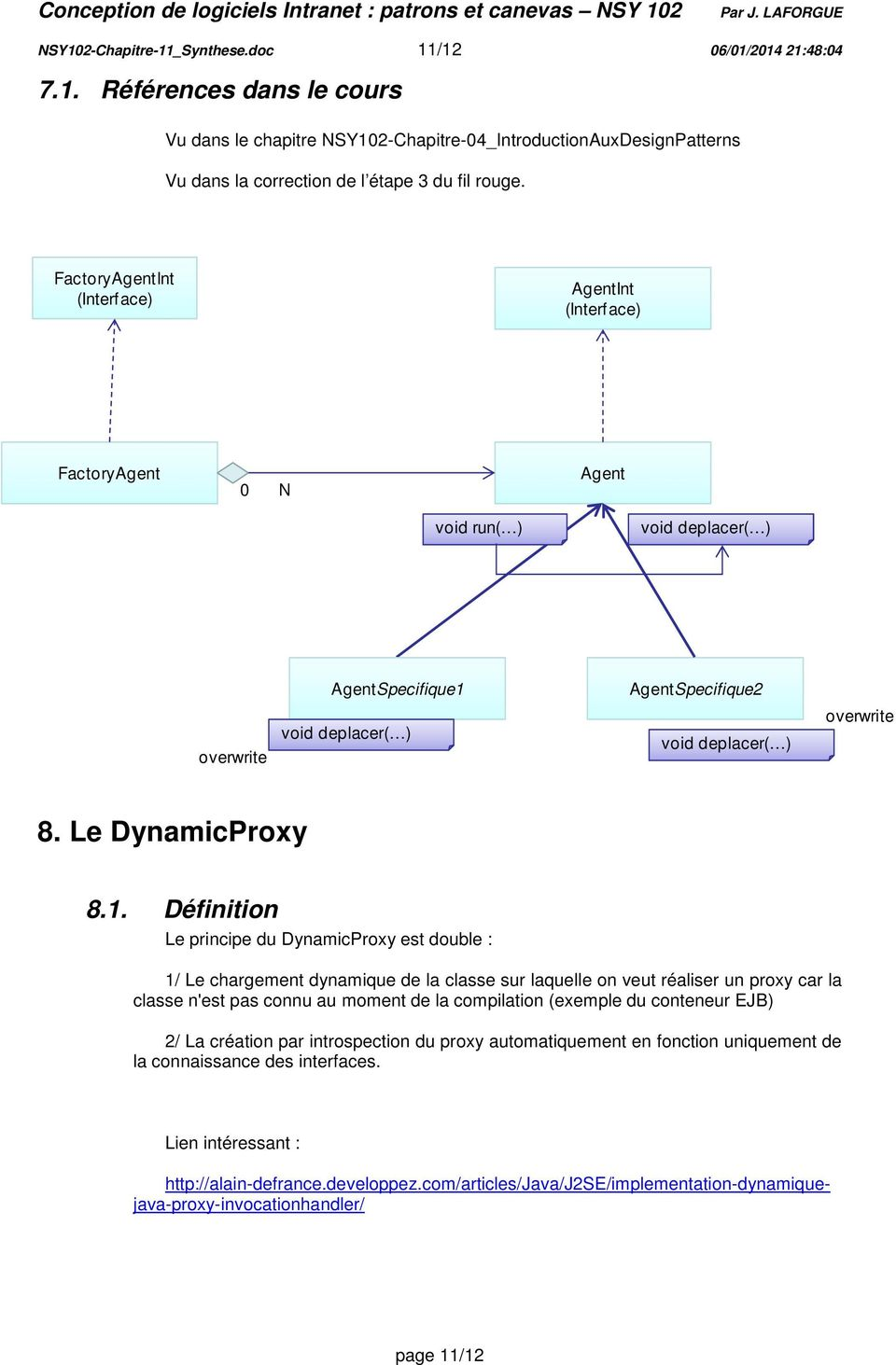 Le DynamicProxy 8.1.