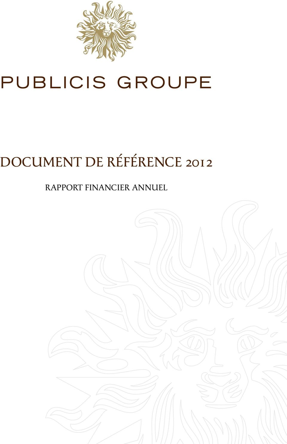 2012 RAPPORT