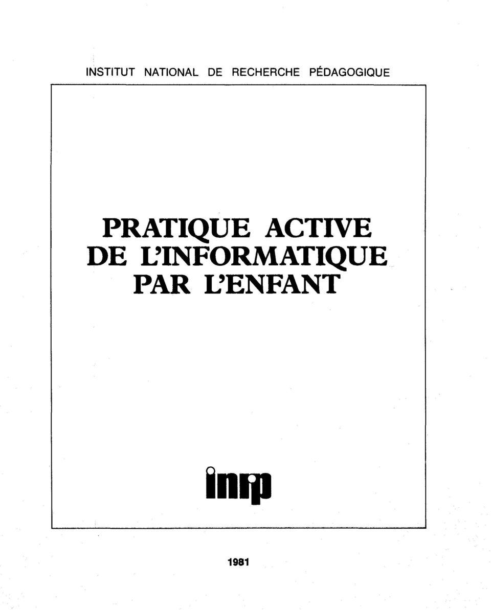 PRATIQUE ACTIVE DE