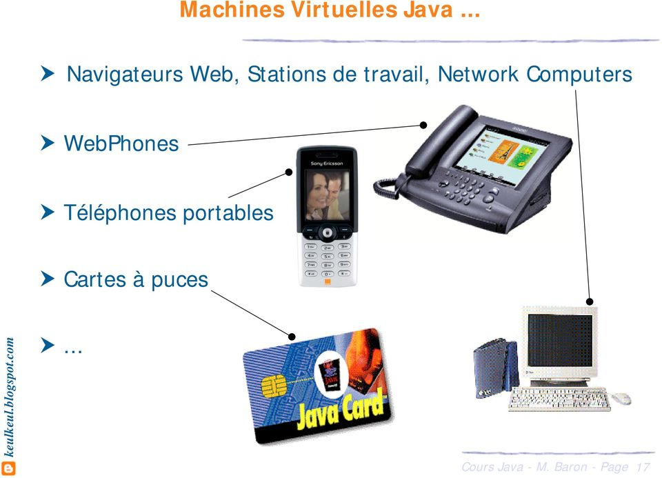 travail, Network Computers