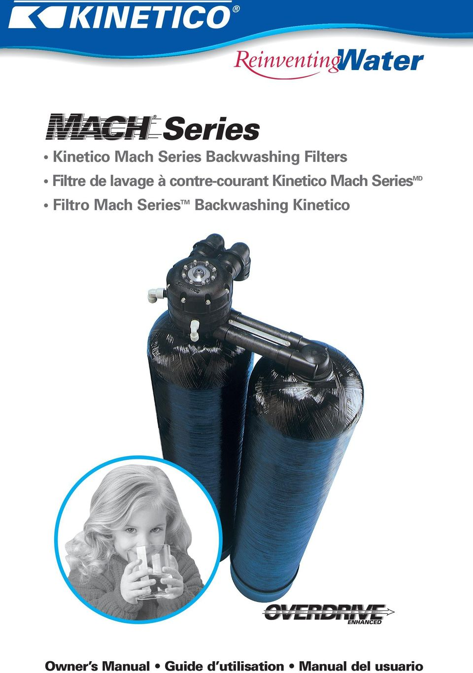SeriesMD Filtro Mach SeriesTM Backwashing