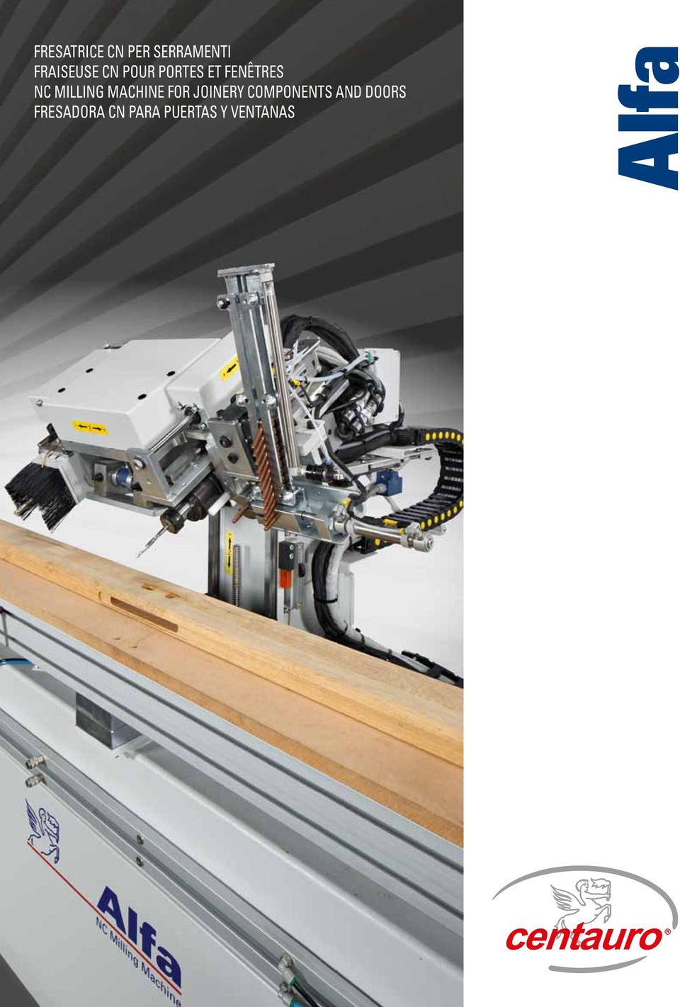MACHINE FOR joinery COMPONENTS AND