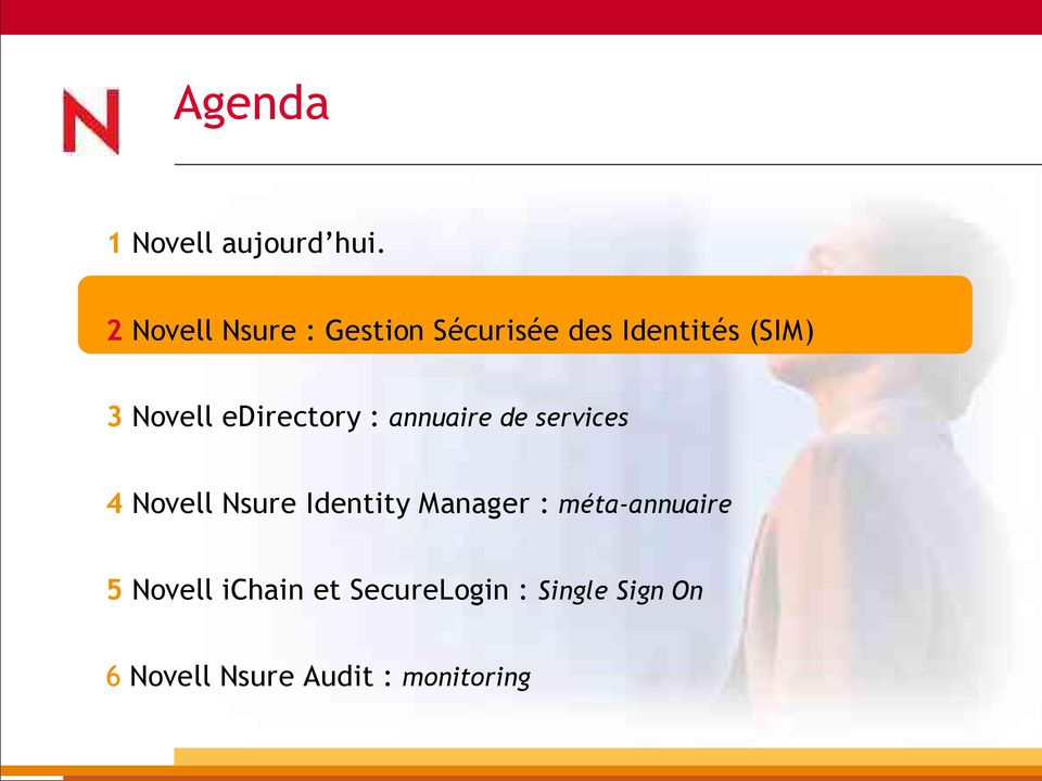 edirectory : annuaire de services 4 Novell Nsure Identity