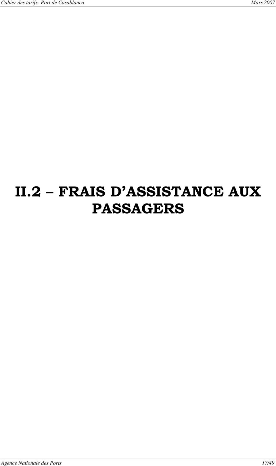 PASSAGERS Agence