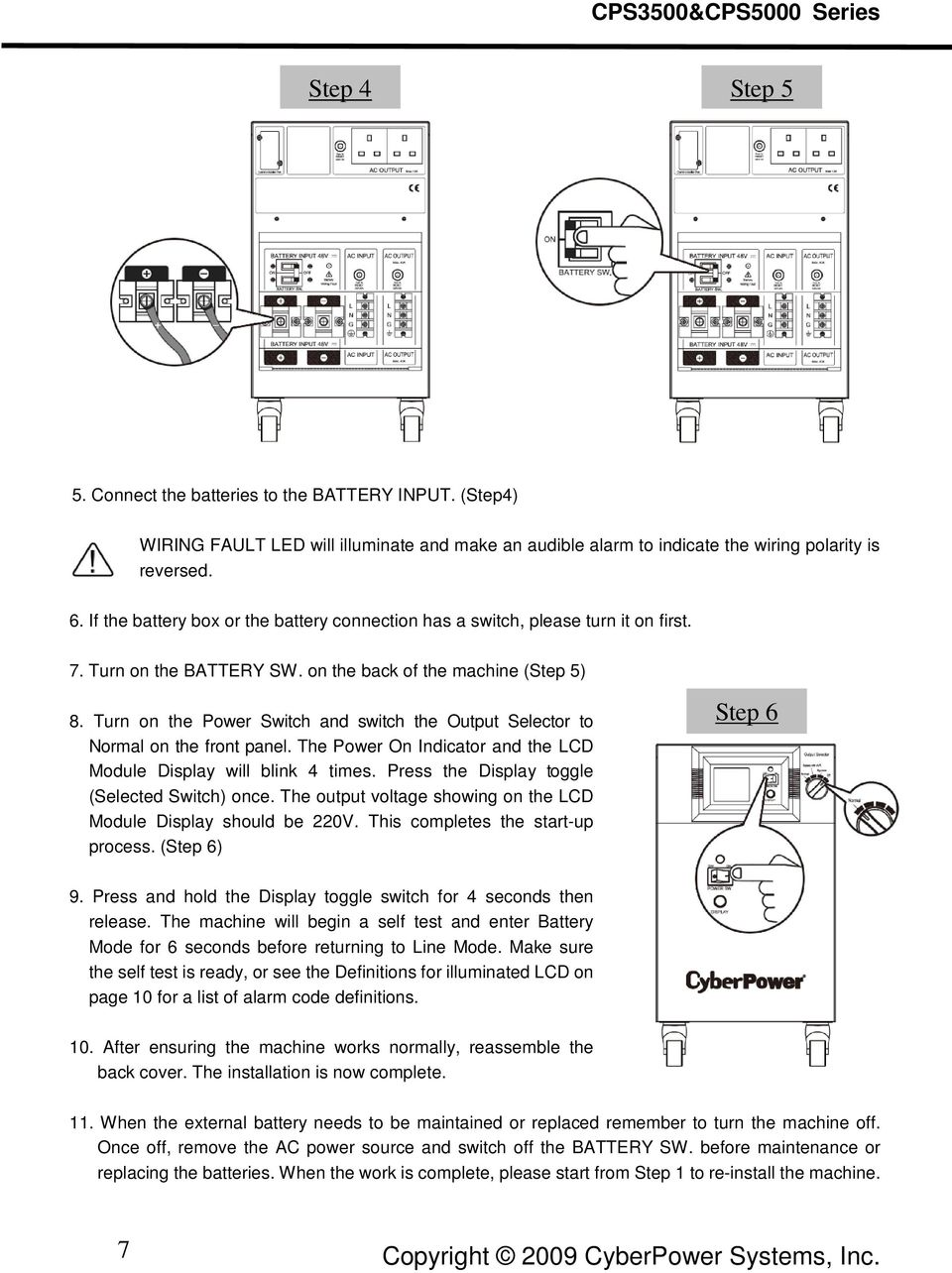 cyberpower 900avr battery replacement instructions