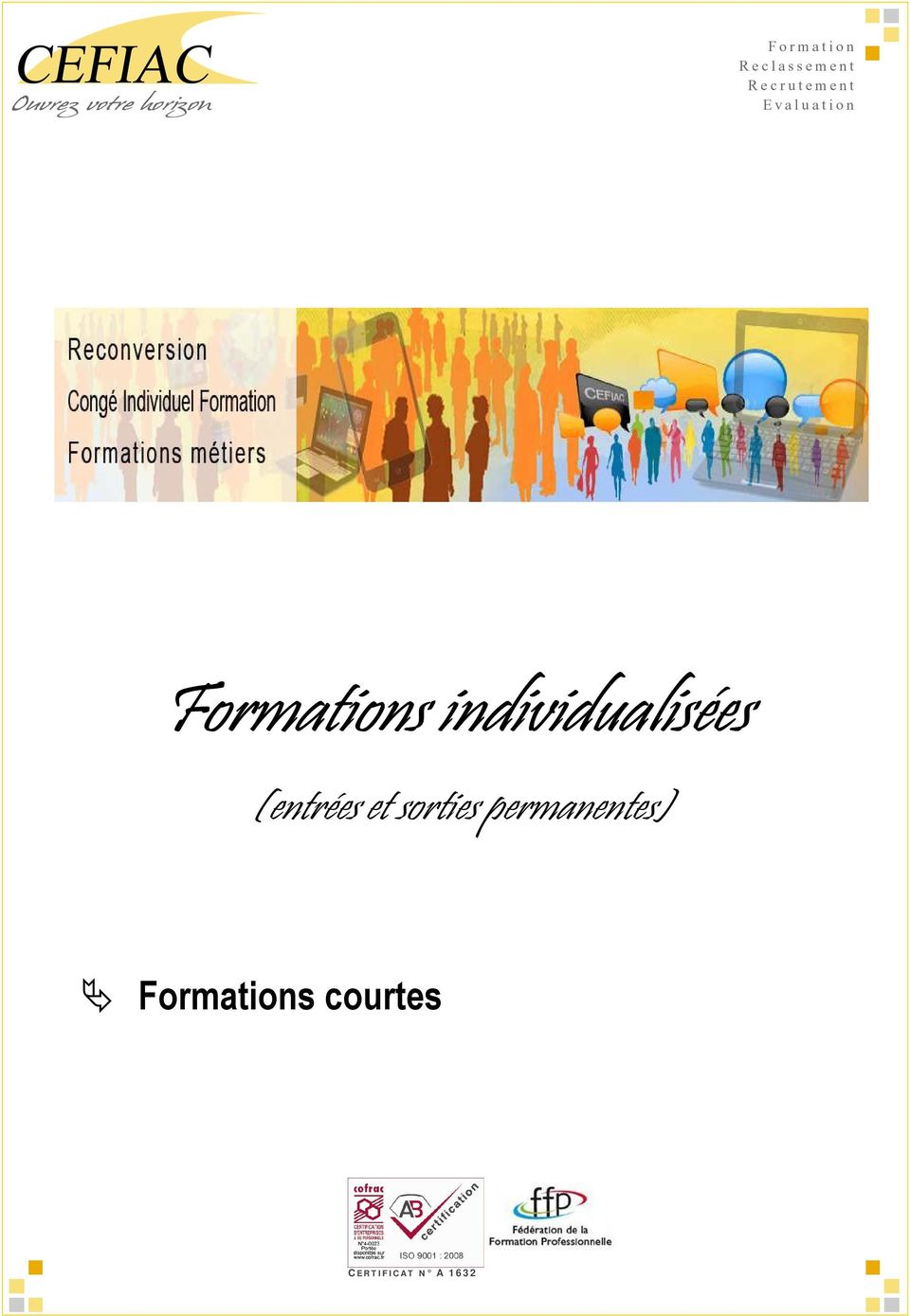 permanentes) Formations