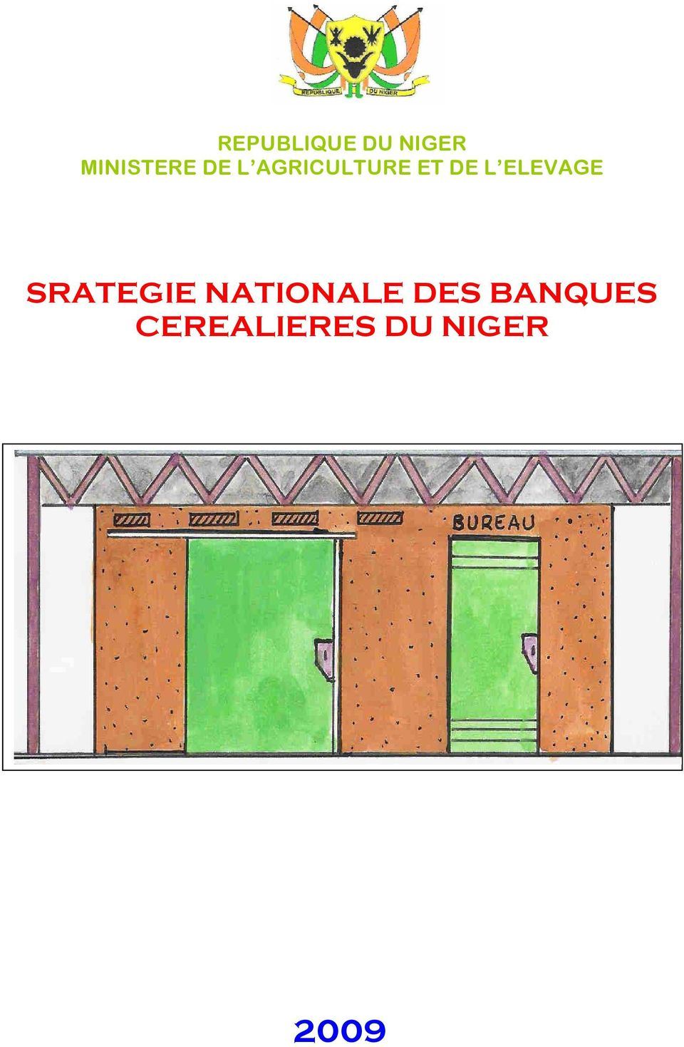 ELEVAGE SRATEGIE NATIONALE DES