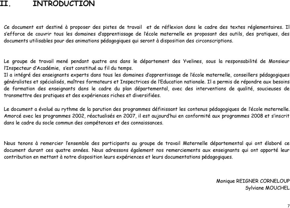 disposition des circonscriptions.