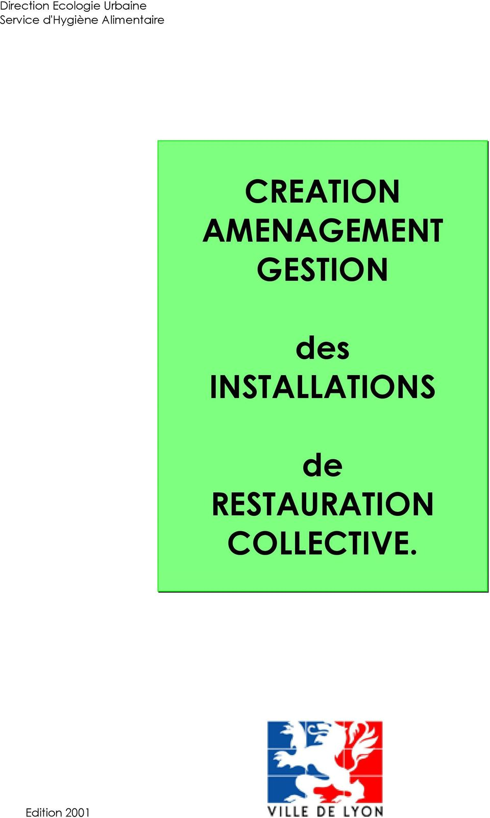 AMENAGEMENT GESTION des