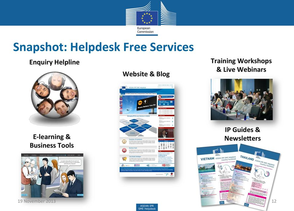 & Live Webinars E- learning & Business