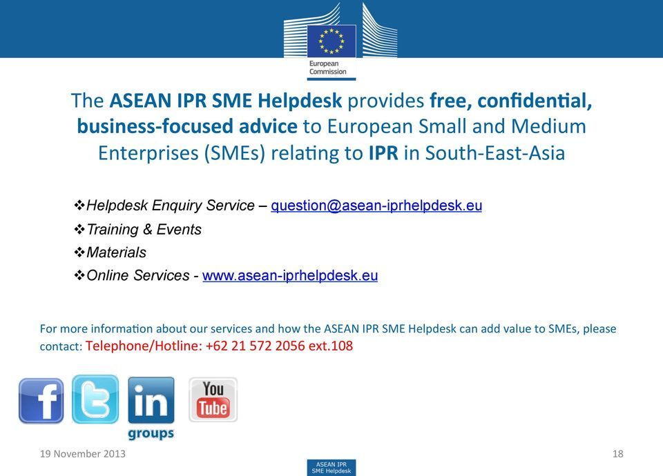 eu v Training & Events v Materials v Online Services - www.asean-iprhelpdesk.