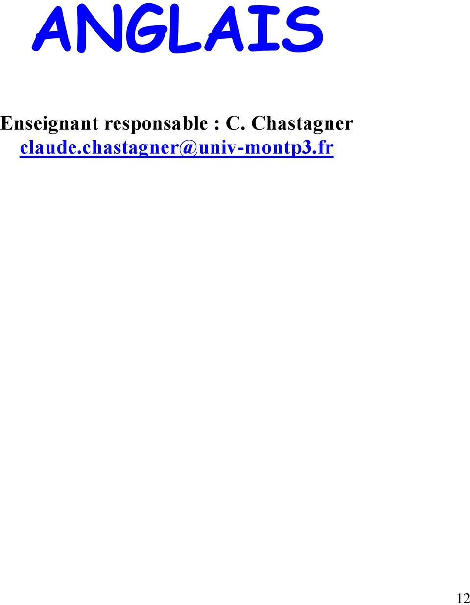 Chastagner claude.