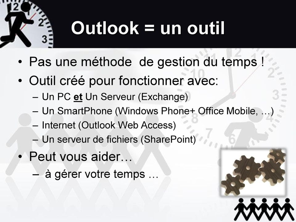 SmartPhone (Windows Phone+ Office Mobile, ) Internet (Outlook Web