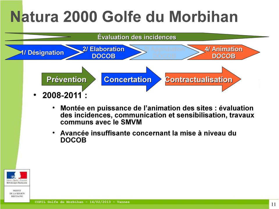 incidences, communication et sensibilisation, travaux communs