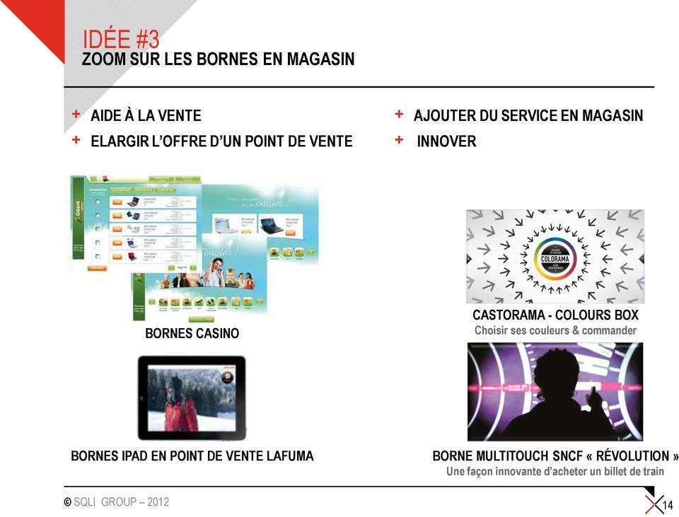 COLOURS BOX Choisir ses couleurs & commander BORNES IPAD EN POINT DE VENTE LAFUMA