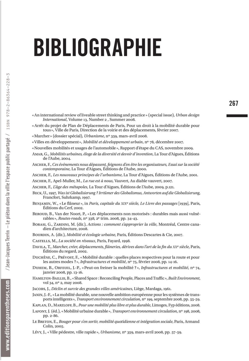 International, Volume 13, Number 2, Summer 2008.