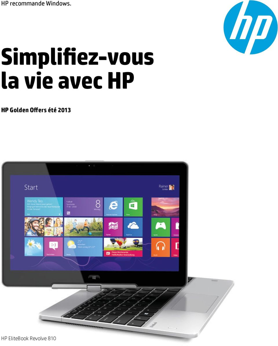 avec HP HP Golden Offers